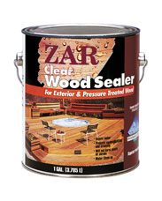 Zar Clear Wood Sealer